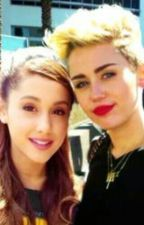 Ariana Grande And Miley Cyrus Lesbian Fanfiction GirlxGirl by arinator22