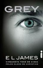 Grey 50 Tons De Cinza Pelos Olhos De Christian EL James by MercedesAngos