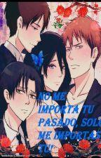 No me importa tu pasado, solo me importas tu. Levi x Mikasa o Mikasa x Levi by KiraVega17