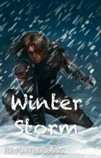 Winter Storm (Bucky x Reader) by foxface9000