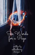 Six words for a Page by levitrish