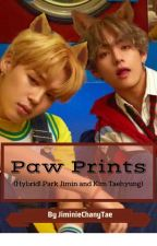 Paw Prints | Hybrid! Park Jimin and Kim Taehyung by JiminieChanyTae