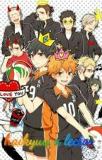 Haikyuu X Lectora  by I-lose-my-head