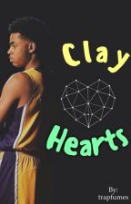 Clay Hearts { D.Russell }  by trapfumes