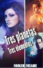 Tres planetas Tres elementos ( PAUSADA) by broken-dreams-29