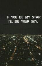 Если ты будешь моей звездой, я буду твоим небом. by orzhanovan