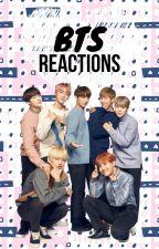 BTS Reactions by akatengu