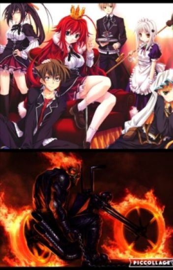 Highschool dxd+Ghost rider
