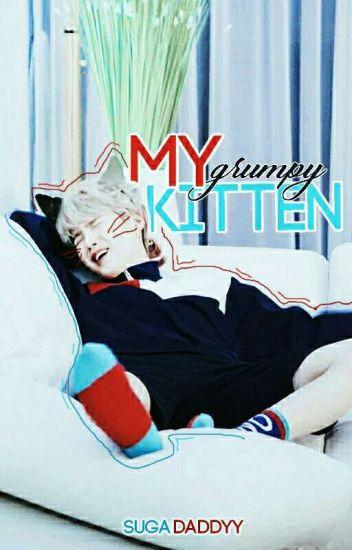 my grumpy kitten ♡ yoonmin