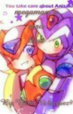 megaman x zero love by thesonofdarkess9