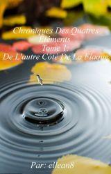 Chroniques Des Quatres Éléments Tome 1: De L'autre Côté De La Flaque by ellean8