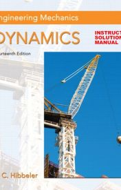 Hibbeler Engineering Mechanics Dynamics PDF 14th edition Free Download by booksinpdf
