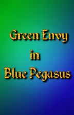 Green Envy in Blue Pegasus by WildRhov