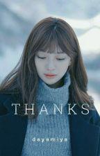 [OG] -Thanks- ※ Jimin  by dayamiya