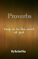 Proverbs by GvJevitha
