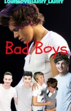 Bad Boys. (Larry, Ziam and Nosh) MPREG! AU (Boyxboy) Needs editing by louisloveharry_larry