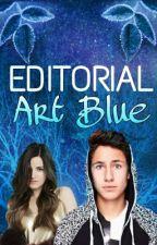 Editorial Art Blue by Noeljarquin