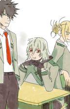 Boku no hero Academia (highschool au) (Shigaraki X Dabi) by katsudeku