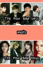The Four Bad Boys meets the Four Bad Girls  by Baby_Princess23