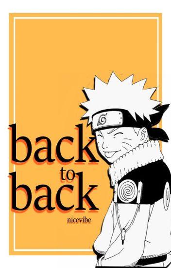 back to back • naruto