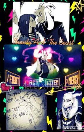 Beauty And The Beast Undertale Asriel X Reader