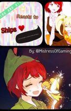 Mahiru and Hiyoko reacts to ships! by Mahiru_Koizumi