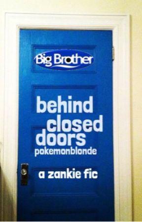 behind closed doors; zankie by pokemonblonde