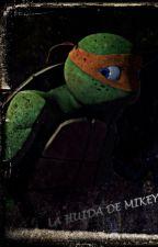 La huida de Mikey (TMNT) by SergioTMNT
