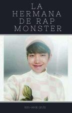 La Hermana de Rap Monster  by kim-seok-jin3z