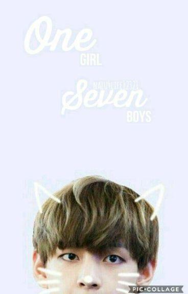 One Girl, Seven Boys (a BTS Fanfic)