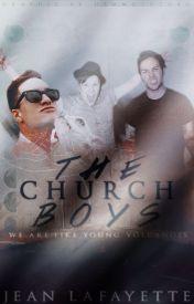 The Church Boys ➸ Peterick/Brentrick by thekobrakid-