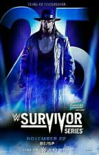 WWE Survivor Series 2015 by cheytaylor1