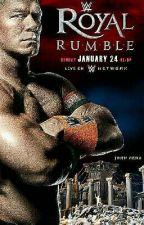 WWE Royal Rumble 2016 by cheytaylor1