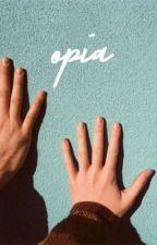 opia; matty healy. by alienharrry