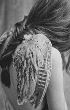 Fallen Angel's shadows by axcelo