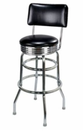 Stupendous Buy Double Ring Chrome Retro Barstool Of Larry Hoffman Wattpad Beatyapartments Chair Design Images Beatyapartmentscom