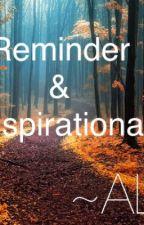 Reminder & inspiration quotes  by liyarockin