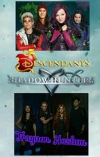 Disney Descendants Vs. Shadowhunters by trayvonhaslam