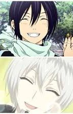 Norigami vs Kamisama Kiss: Yato meets Tomoe by Jazzynote9