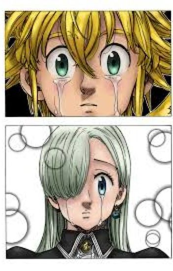 The demons suffering (MELIODAS X ELIZABETH)