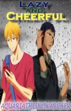 Lazy and Cheerful 「Aomine x OC x Kise」 by aquariathesnowarcher