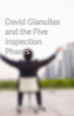 David Gianulias and the Five Inspection Phases by davidgianulias