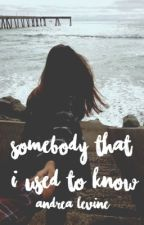 SOMEBODY THAT I USED TO KNOW by andrea_levine