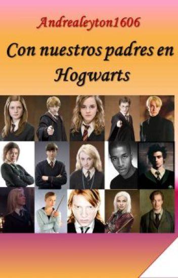 Con nuestros padres en Hogwarts