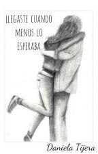 Llegaste Cuando Menos Lo Esperaba by YoTijera