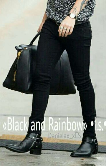 «Black And Rainbow» •l.s.•