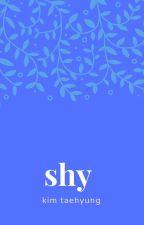 shy • kim taehyung by haeng-nim