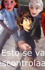 Memes #1 - jackunzel y Mériccup by veranizB
