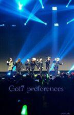 Got7 Preferences  by mkr0723