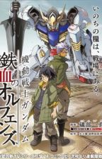 Mobile Suit Gundam Iron-Blooded Orphans Ocs by G_A_P_C_J_R